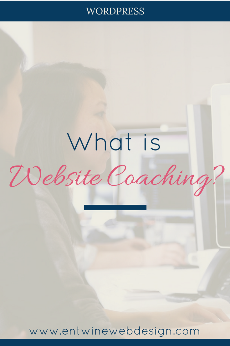 what is wordpress coaching title graphic