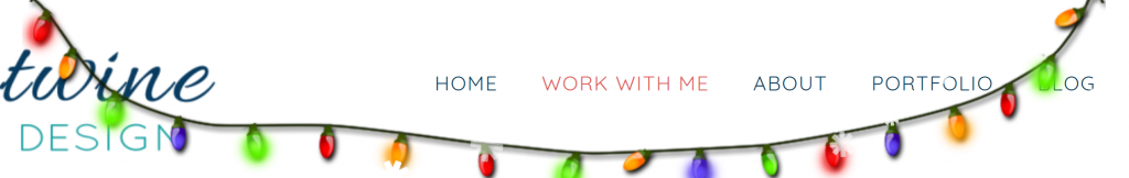 decorate your website with lights