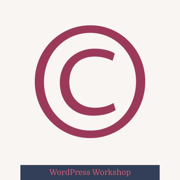 copyrightfooter wordpress